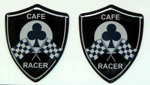 Wappen Cafe Racer 2er Set 59001