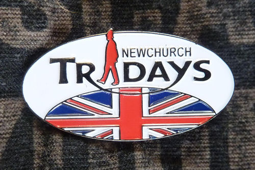 Pin oval Tridays - Newchurch 59240